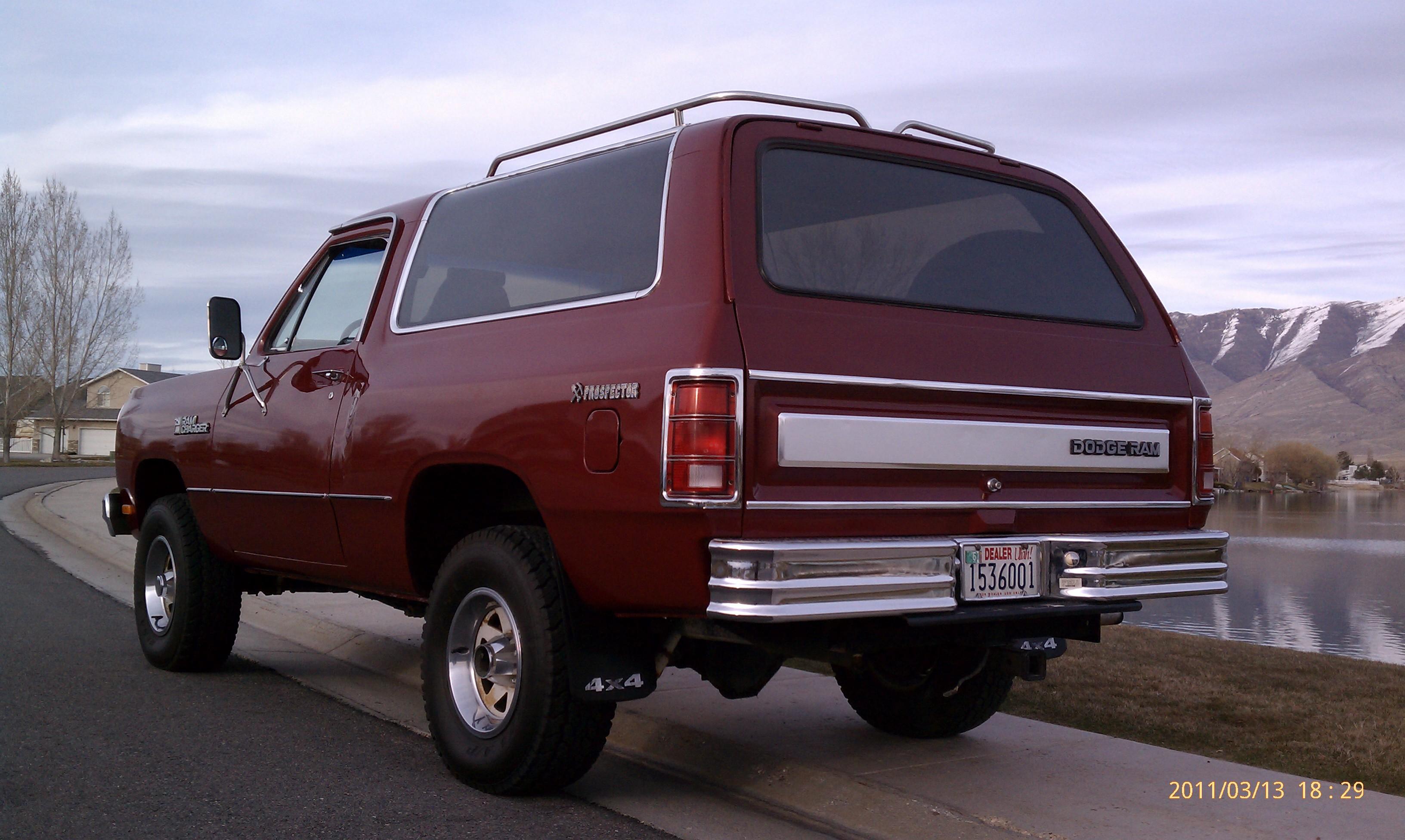 1985 Dodge Ramcharger Prospector